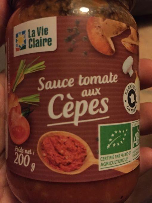Sauce tomate aux cèpes - Produit