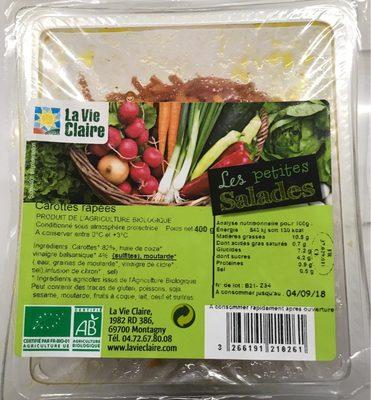 Les petites salades - Carottes râpées - Produit - fr