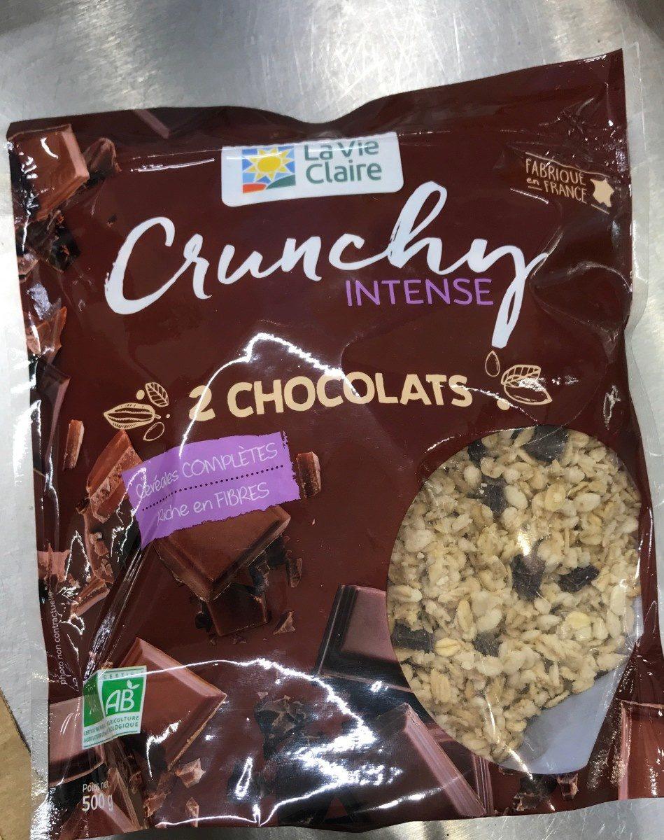 Crunchy intense 2 chocolats - Product