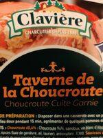 Choucroute cuite garnie - Produit - fr
