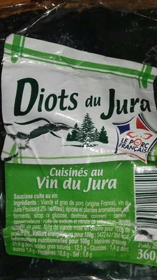 Diots du Jura cuisinés au Vin du Jura - Voedigswaarden