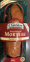 Saucisse de morteau fumée en Tuyé - Product - fr