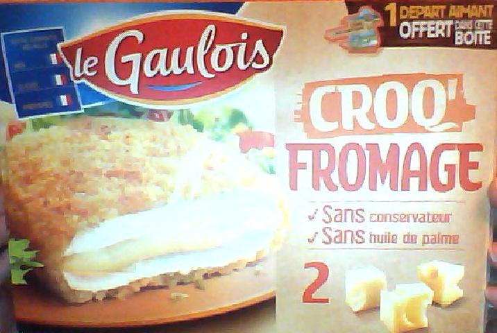 Croq' Fromage (2) - Produit - fr