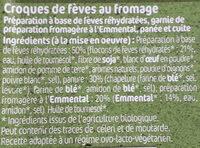 CROQUES DE FÈVES - Ingrediënten - fr