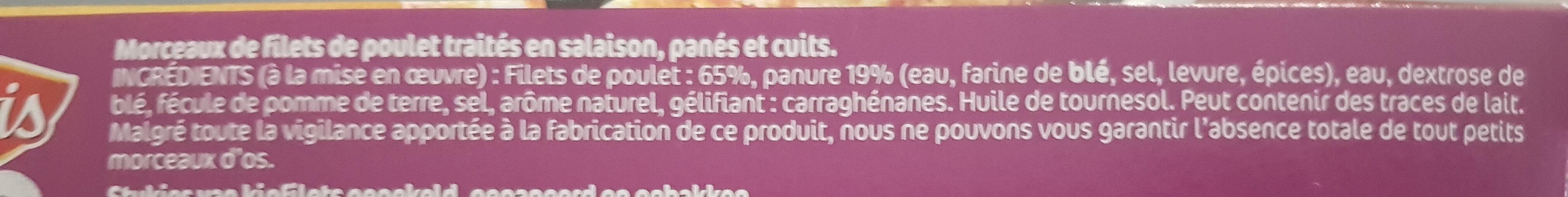 Crousty chicken - Ingredients - fr