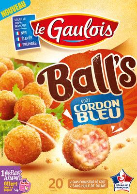 Ball's goût cordon bleu - Produit - fr