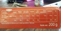 Ball's goût cordon bleu - Informations nutritionnelles - fr