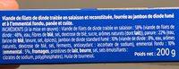 L'escalope Cordon Bleu - Ingrediënten