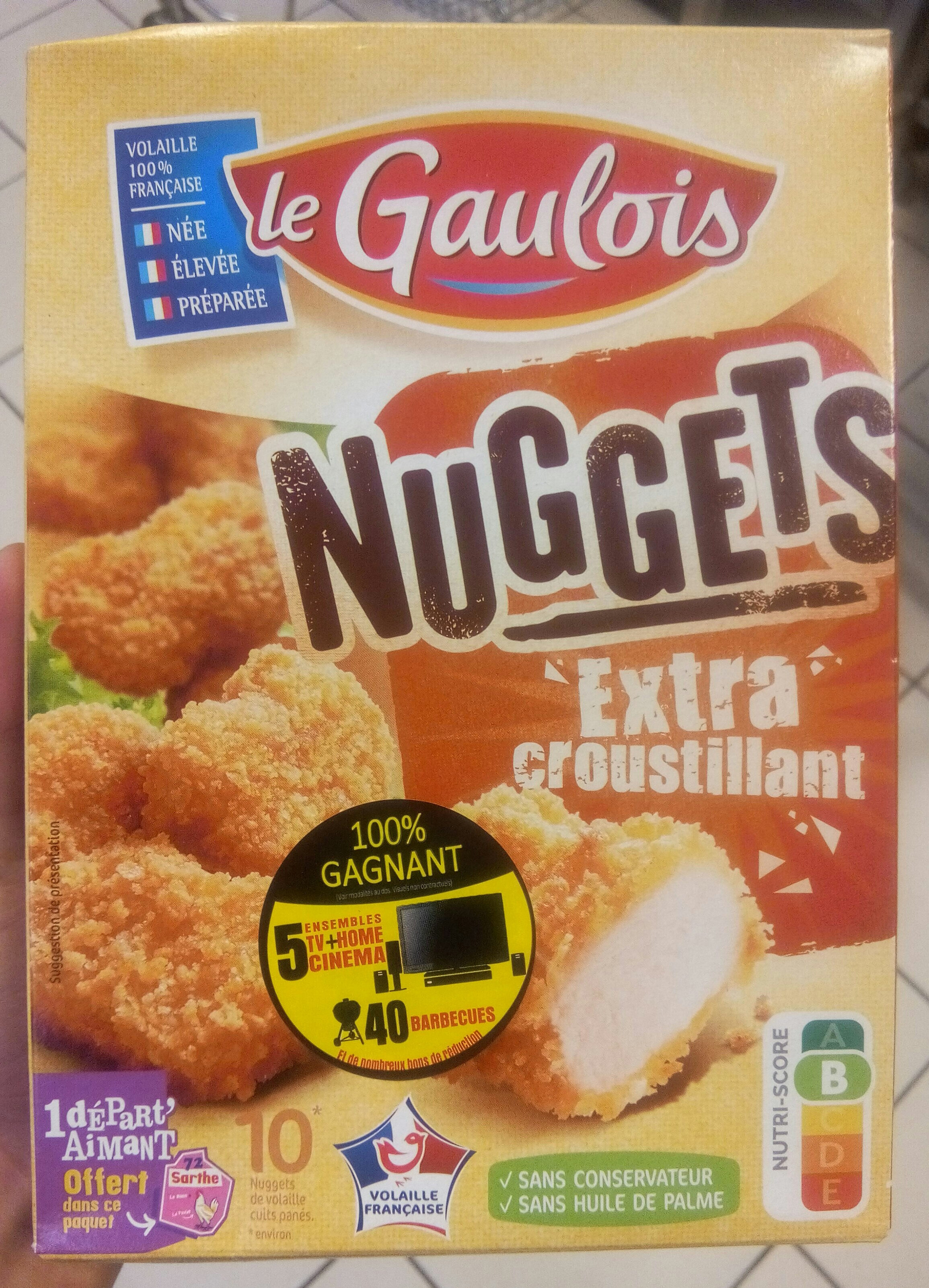 Nuggets Extra Croustillant x10 - Producto