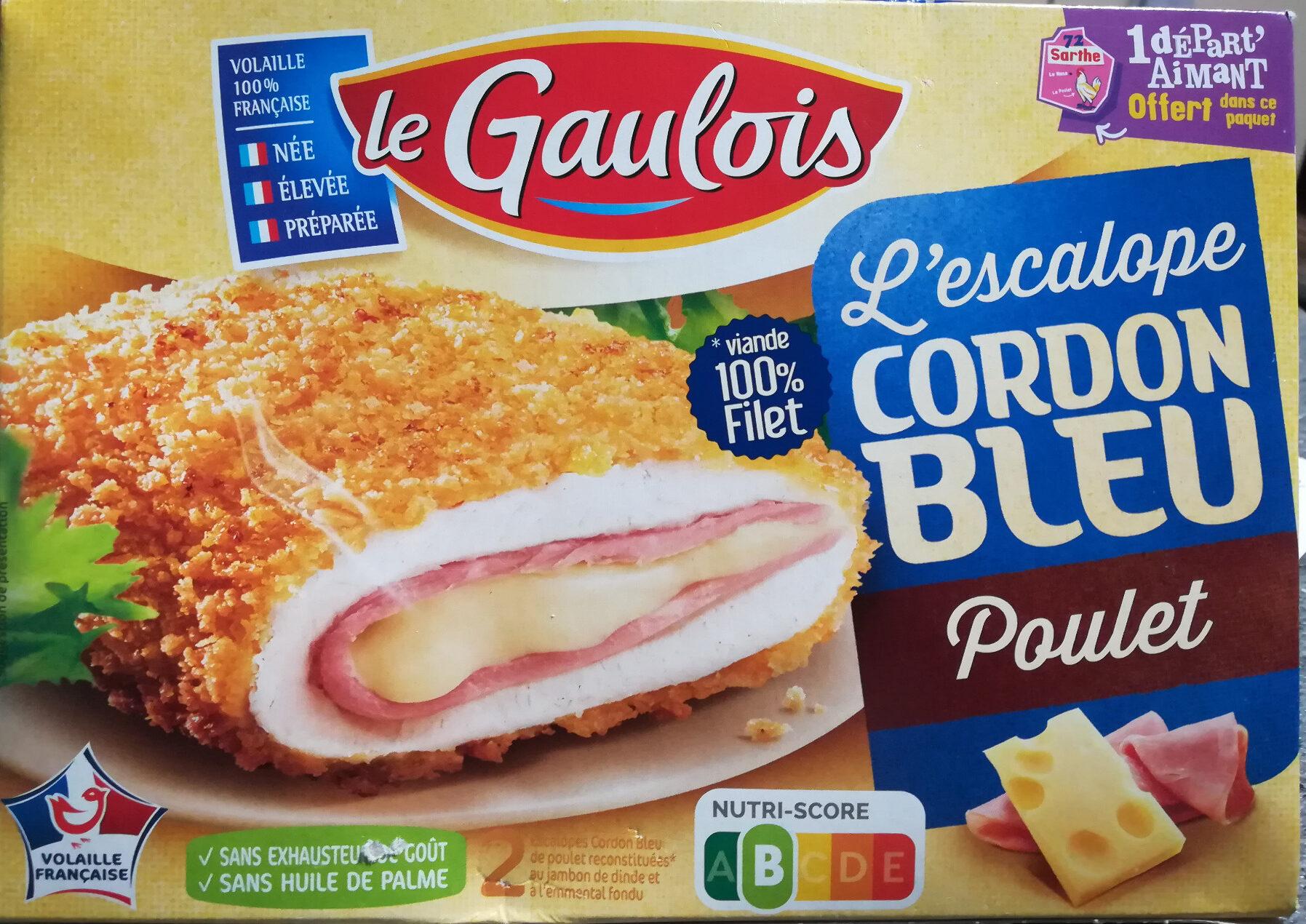 L'escalope Cordon Bleu de Poulet x2 - Product