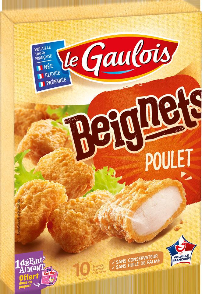 Beignets de poulet x10 - Produit