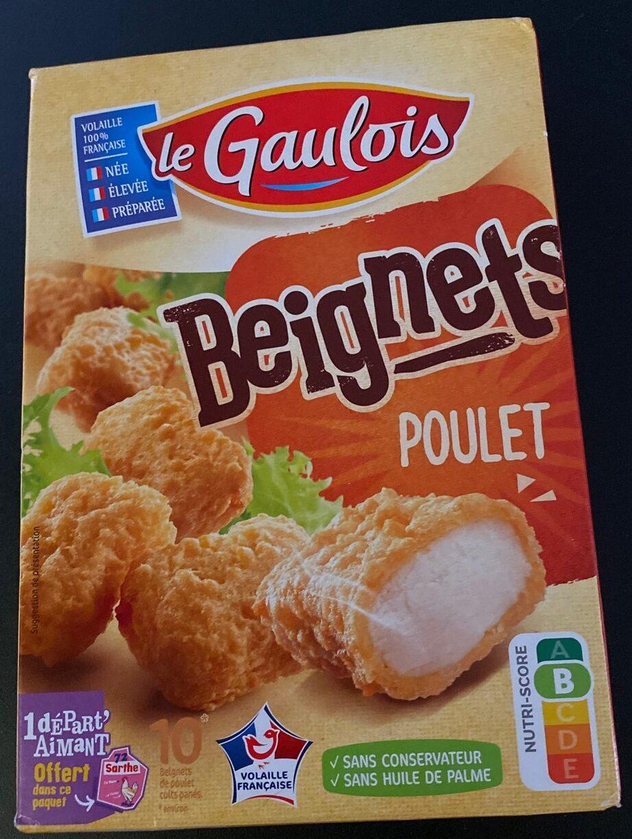 Beignets de poulet x10 - Produit - fr
