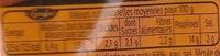 Rôti de dinde cuit 800g - Informations nutritionnelles