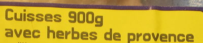 Cuisses de Poulet aux Herbes de Provence - Ingrédients - fr