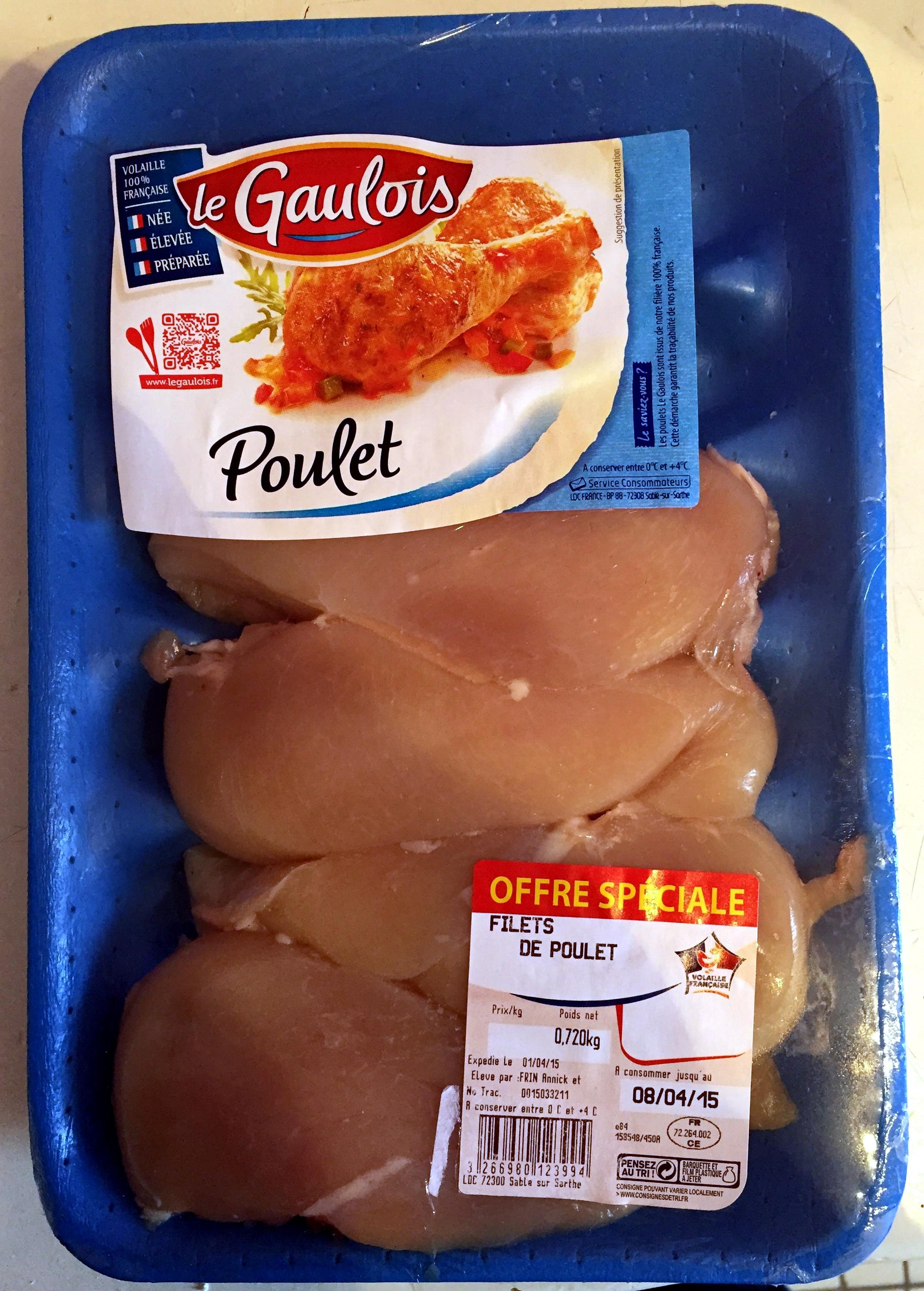 filet de poulet blanc - Produit - fr