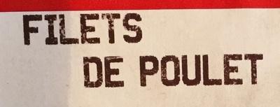 filet de poulet blanc - Ingrédients - fr