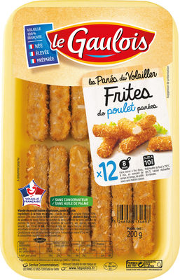 Frites de poulet panées - Produit - fr