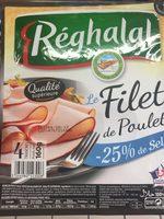 Filet de Poulet -25% de Sel - Produit - fr