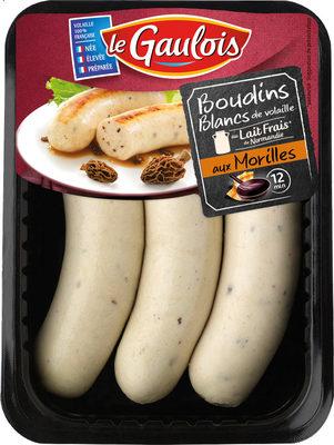 Boudins Blancs aux Morilles x 3 - Product
