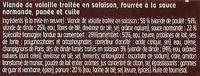 panés normand x2 - Ingrédients - fr