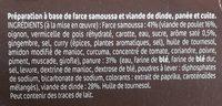 beignets asiatique x2 - Ingredients - fr