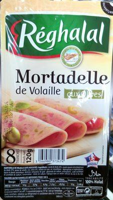 Mortadelle de Volaille aux olives - Produit