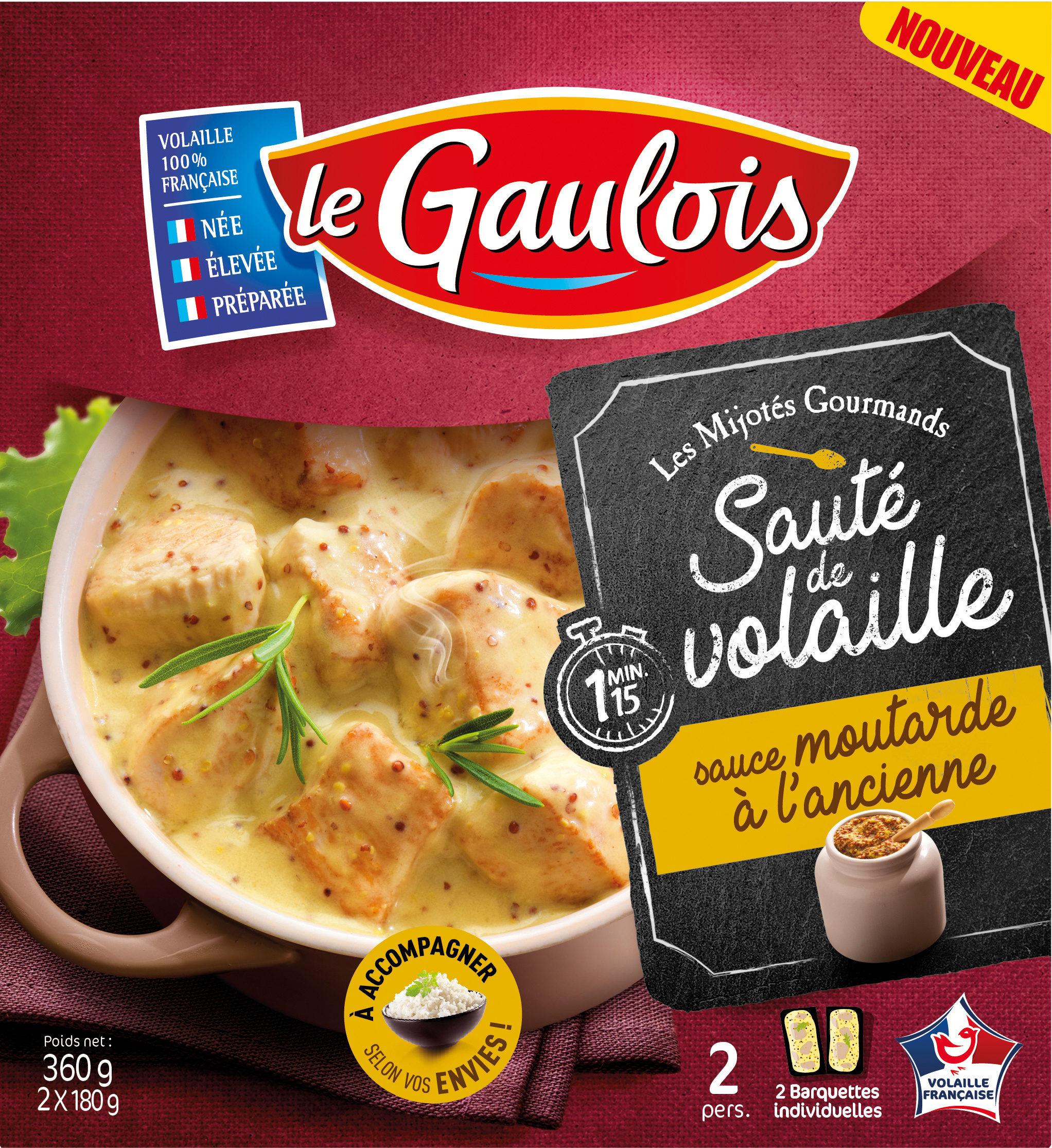 sauté volaille sauce moutarde à l'ancienne s/étui - Produit - fr