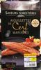 Aiguillettes de Cerf marinées + sauce à la truffe - Produit