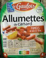 Lardons de Canard fumés - Produit - fr
