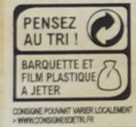 Lardons de Canard fumés - Instruction de recyclage et/ou informations d'emballage - fr