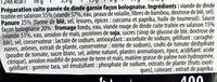 Croc'Régal façon Bolognaise - Ingrédients - fr