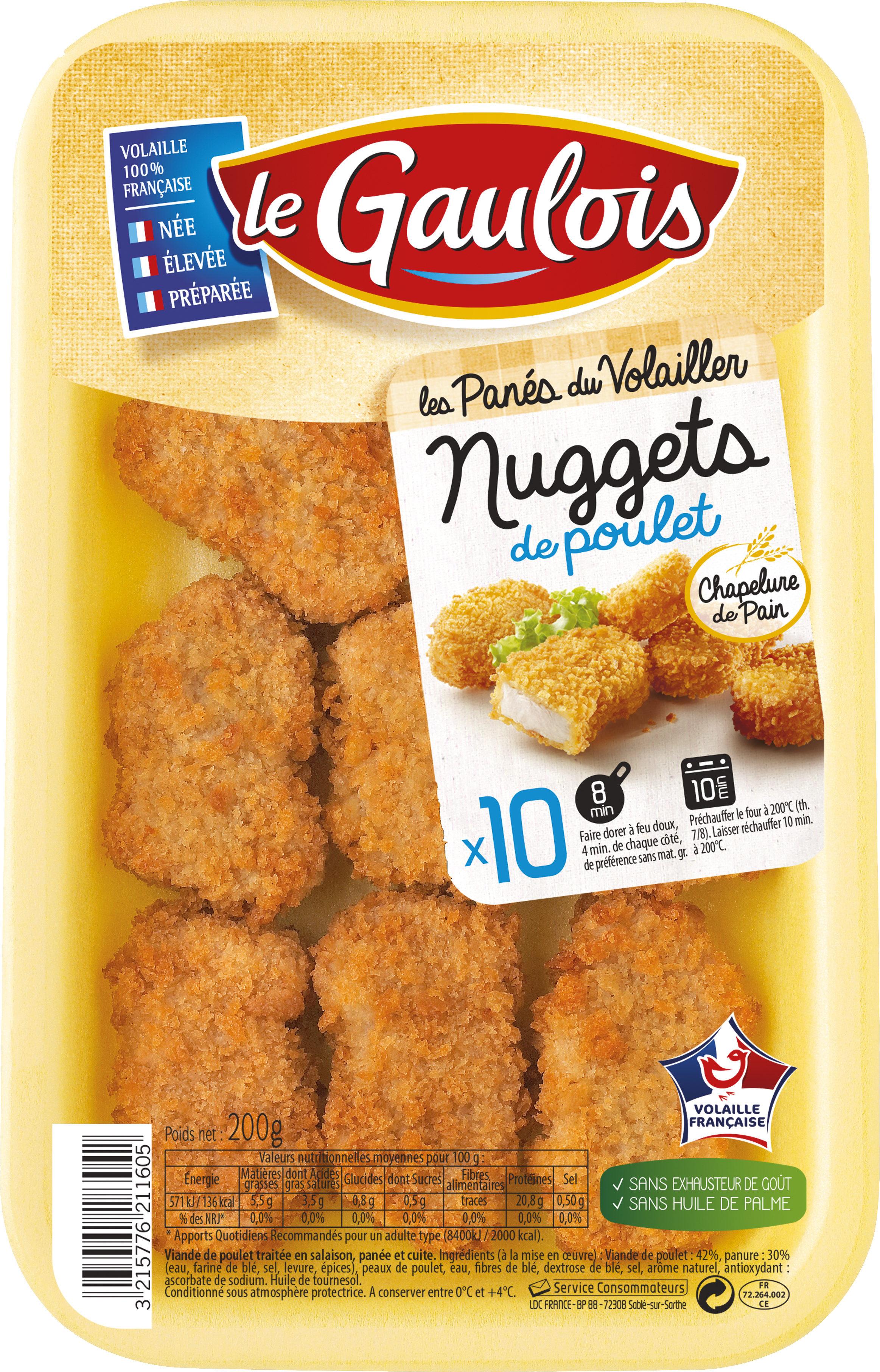 Les Panés du Volailler, Nuggets de Poulet - Produit - fr