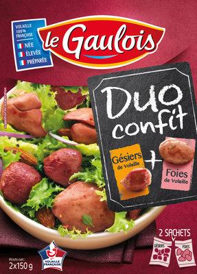 Duo Confit Gésiers + foies - Product