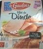 Filet de Dinde (4 tranches) - Produit