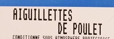Poulet, Aiguillettes de Poulet - Ingrédients - fr