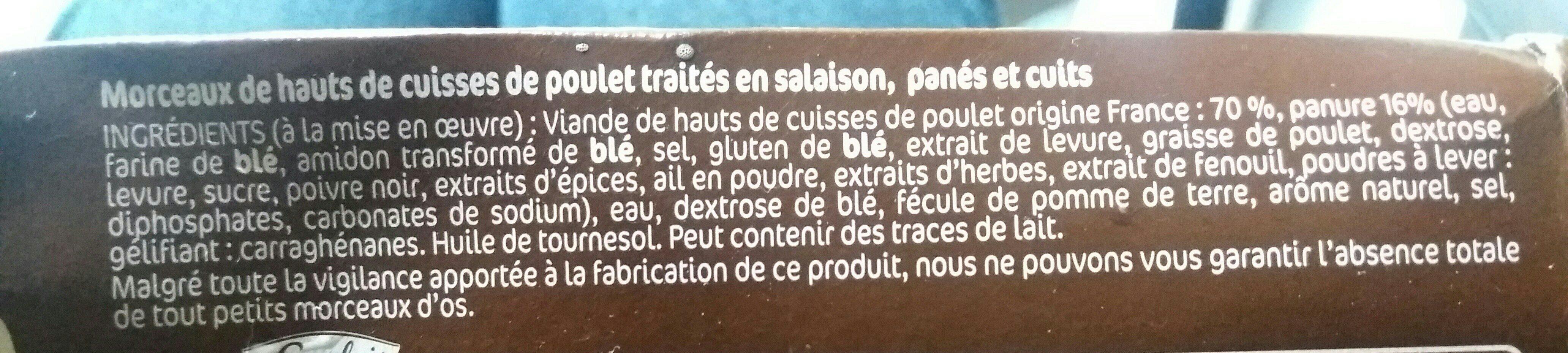 Crousty Chicken l'original - Ingrediënten - fr