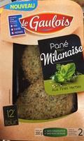 panés milanaise fines herbes s/at x2 - Produit - fr