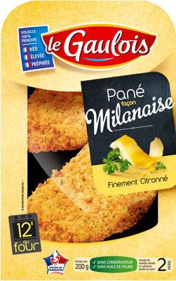 Pané façon Milanaise Finement Citronné - Produit - fr