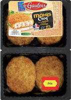 Les Maxis Croq' dés de jambon de dinde et fromage - Produit - fr