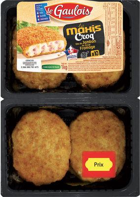 Les Maxis Croq' dés de jambon de dinde et fromage - Produit