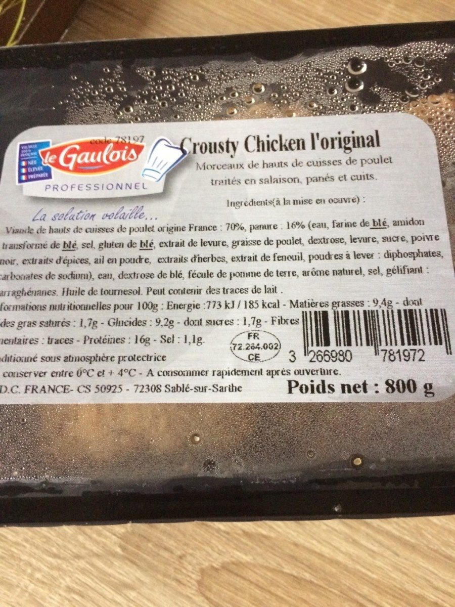 Crousty chicken l'original - Product - fr