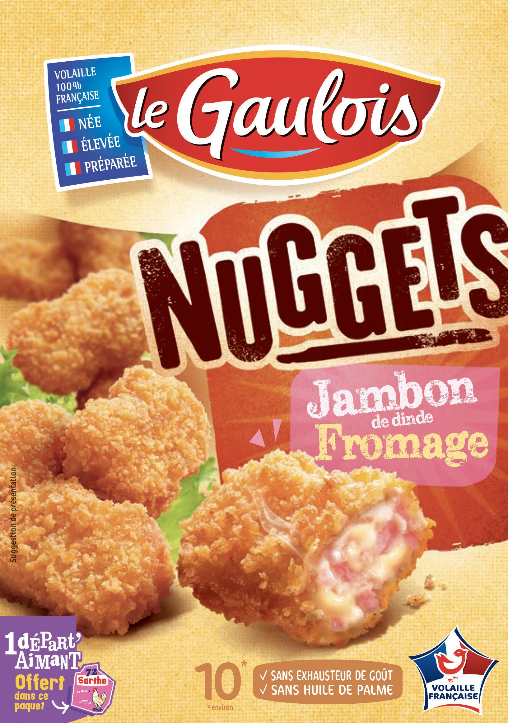 Nuggets Jambon de dinde fromage x10 - Produit