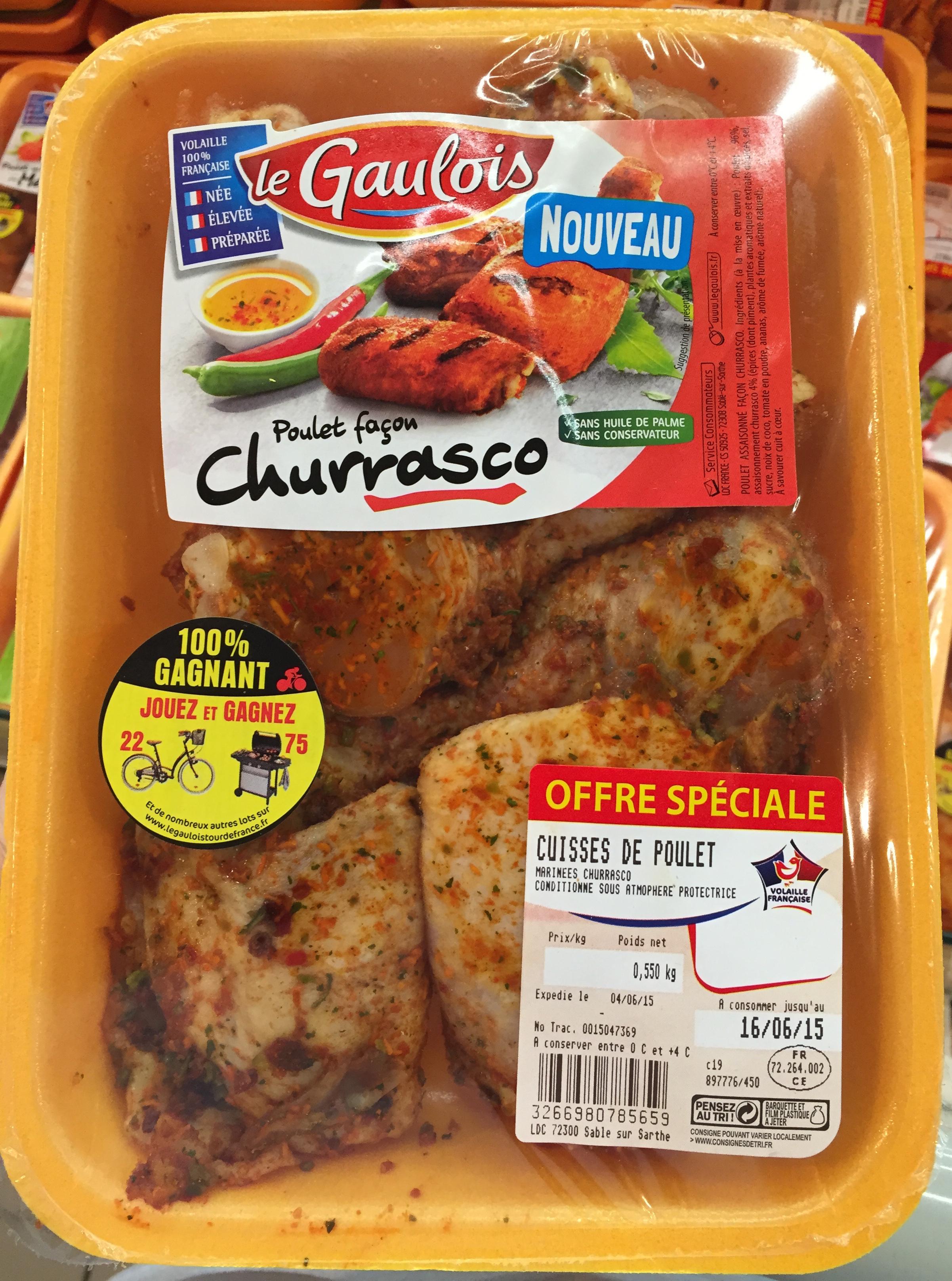 Poulet façon Churrasco - Produit