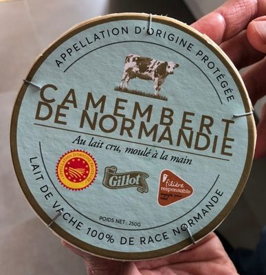 Camembert de normandie gillot - Product - fr