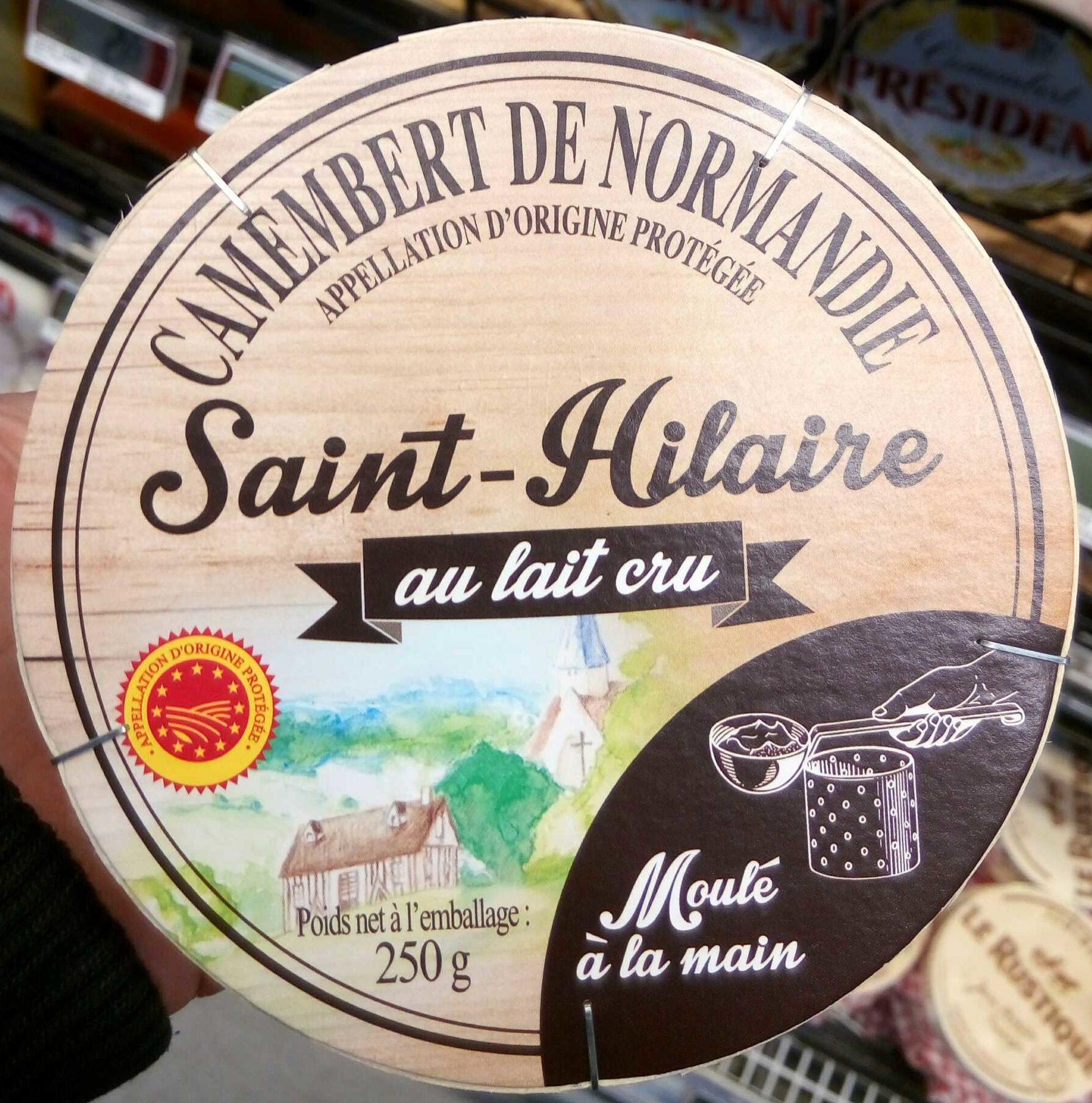 Camembert de Normandie Saint-Hilaire du lait cru - Product
