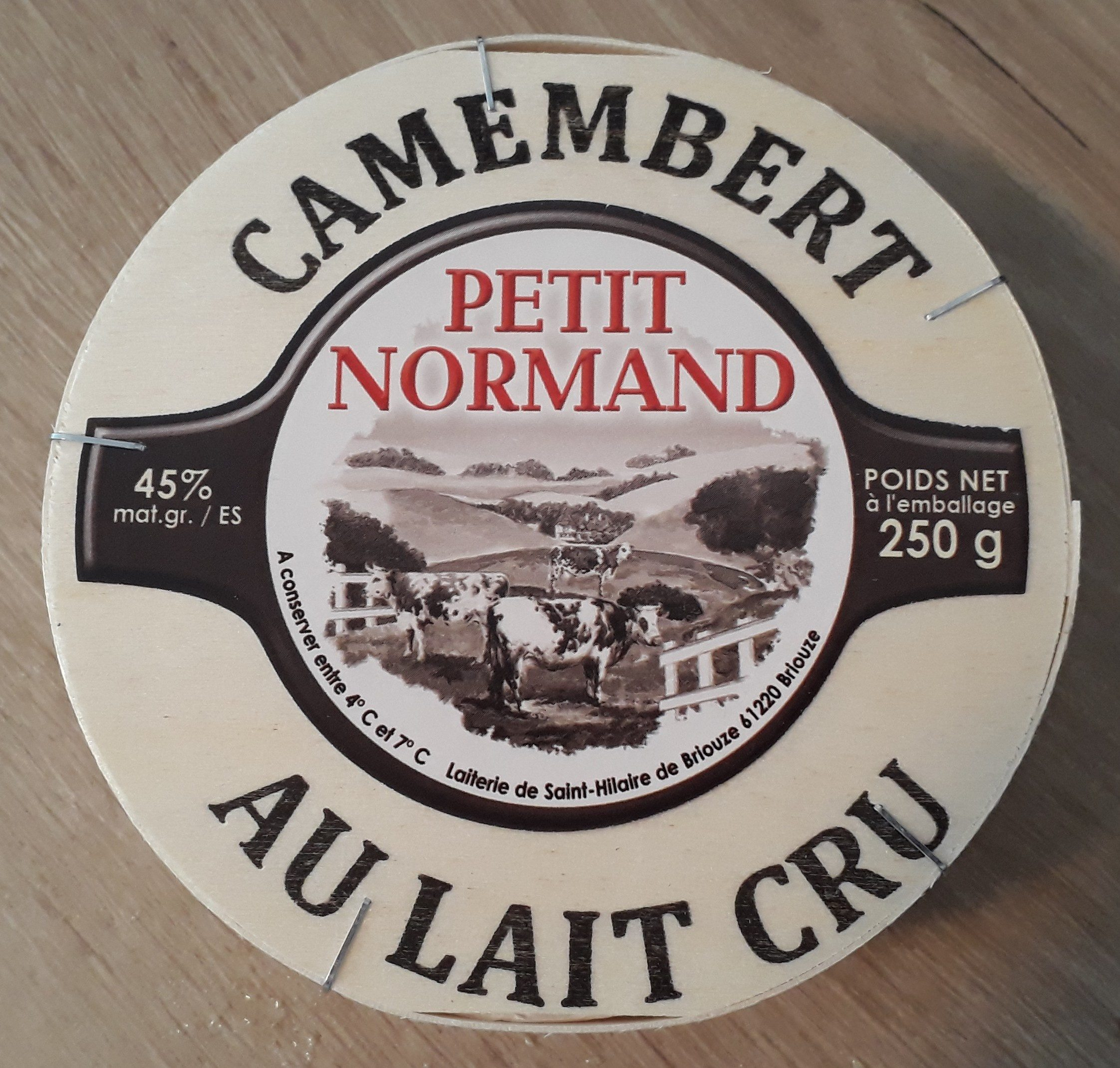 Camembert Petit Normand (45% MG) au lait cru - Product