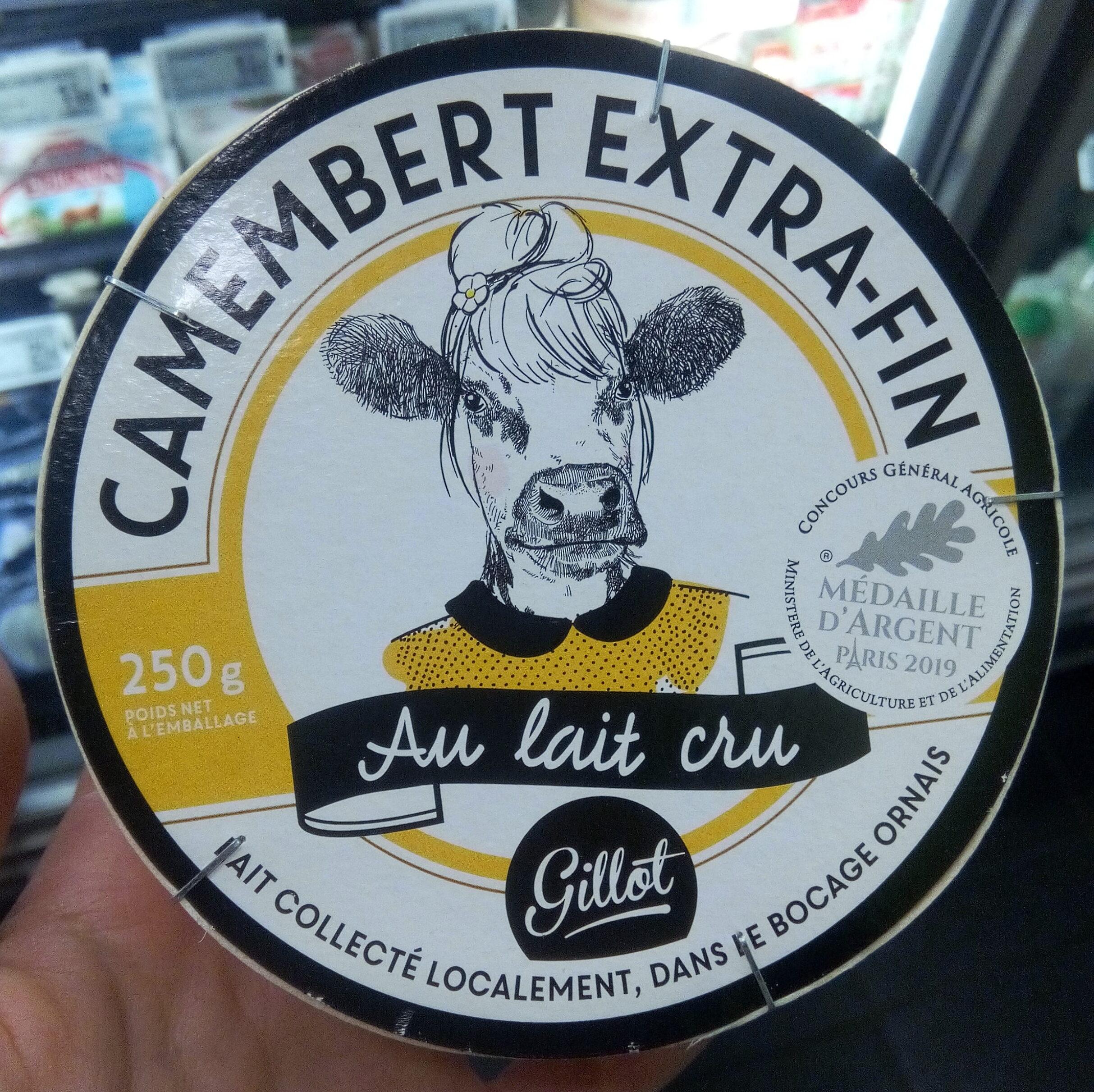 Camembert au lait cru - Product - fr