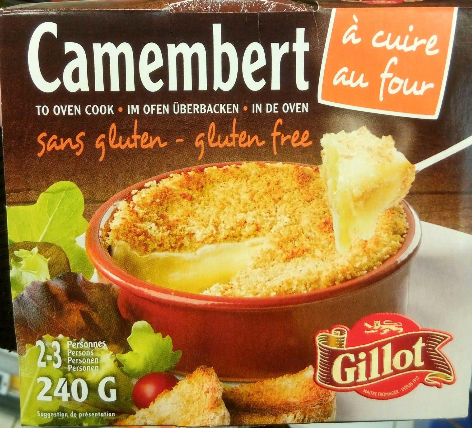 Camembert à cuire au four - Produit - fr