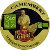Camembert Bio au lait cru fabriqué en Normandie (22 % MG) - Produit