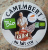 Camembert Bio au lait cru fabriqué en Normandie (22 % MG) - Product